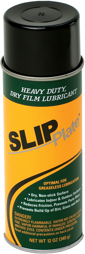 SlipPlate™ Dry Lubricant/Graphite Spray