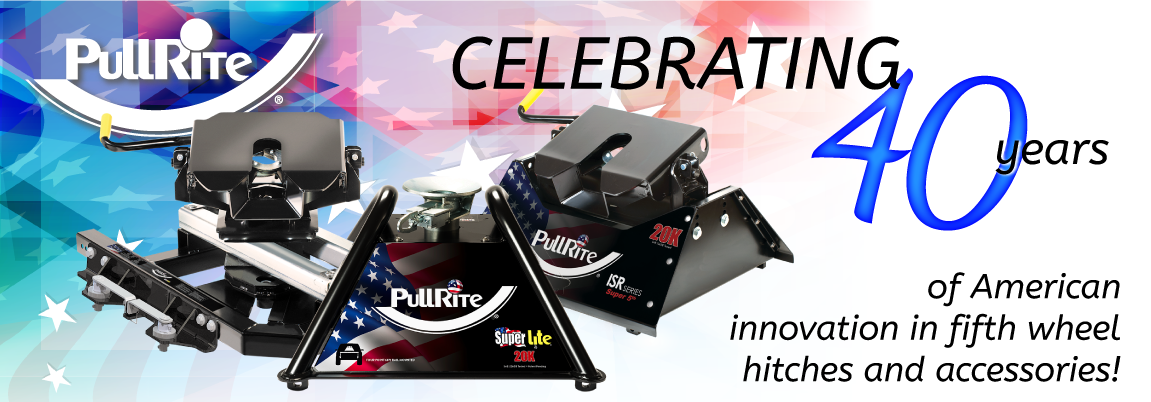 Celebrating 40 years of American fifth wheel hitch innovation
