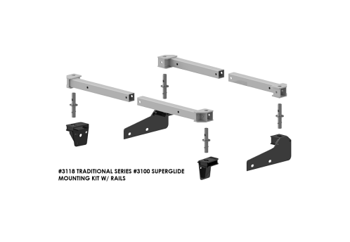 #3118 Traditional Series #3100 SuperRail Mounting Kit