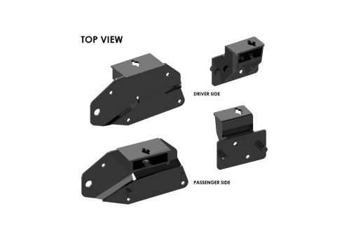 #3119 Traditional Series #3100 SuperRail Mounting Kit