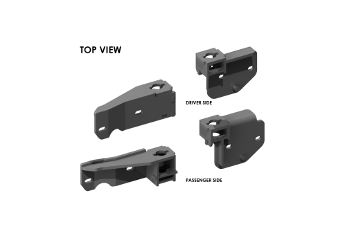 #2336 ISR Series SuperRail Custom Mounting Kit