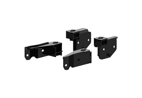 #2336 ISR Series SuperRail 20K Custom Mounting Kit for 2014-2019 Dodge 2500 Trucks